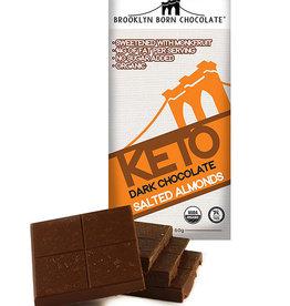 Brooklyn Born Chocolate Brooklyn - Keto Bar, Salted Almonds (60g)