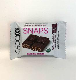 ChocXo ChocXo - Dark Chocolate Snaps, Quinoa (14g)