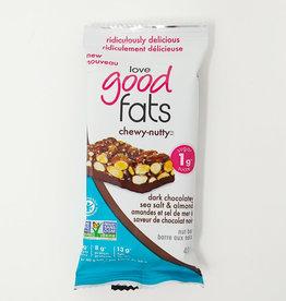 Love Good Fats Love Good Fats - Chewy-Nutty, Dark Chocolate Sea Salt & Almond