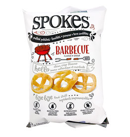 Spokes Spokes - Puffed Potatoes, BBQ (24g)