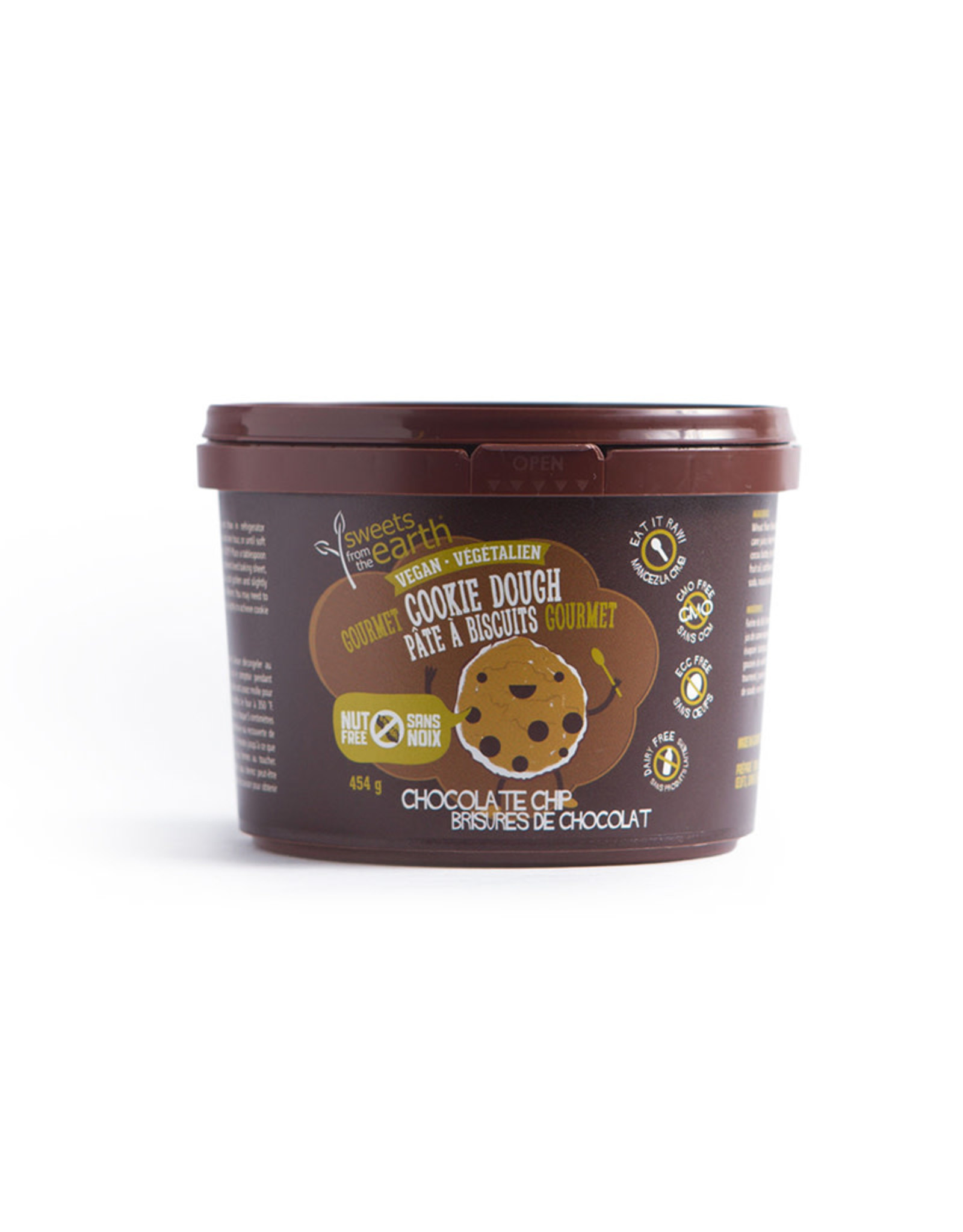 Sweets From the Earth Sweets from the Earth - Chocolate Chip Cookie Dough (454g)