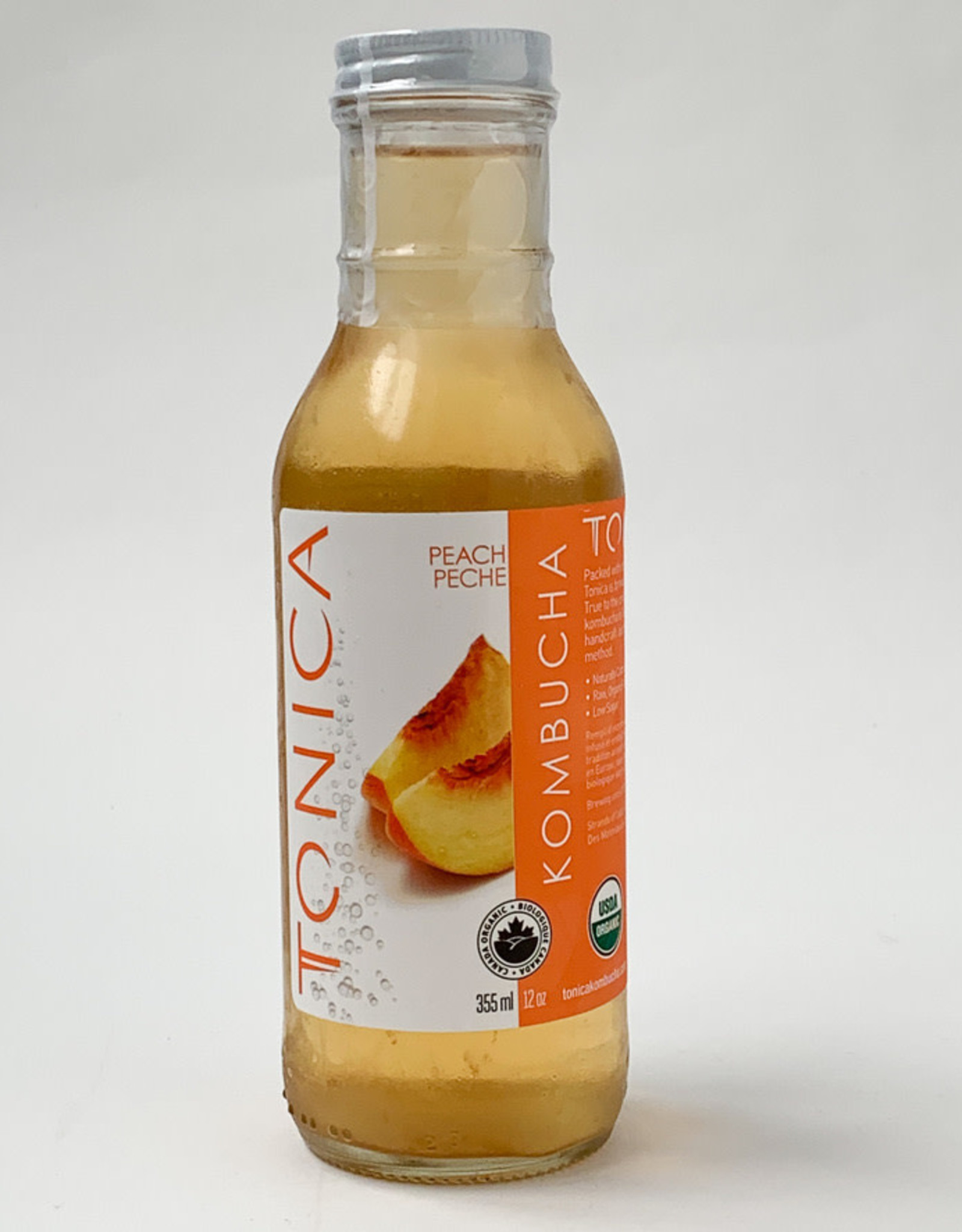 Tonica Tonica - Kombucha, Peach (355ml)