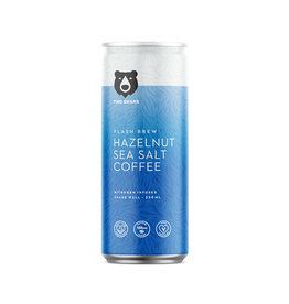 Two Bears Two Bears - Cold Brew Coffee, Hazelnut & Sea Salt (250ml)