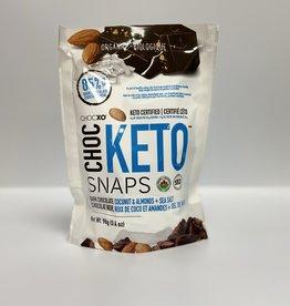 ChocXo ChocXo - Keto Snaps Chocolate, Coconut, Almond & Salt (98 g)