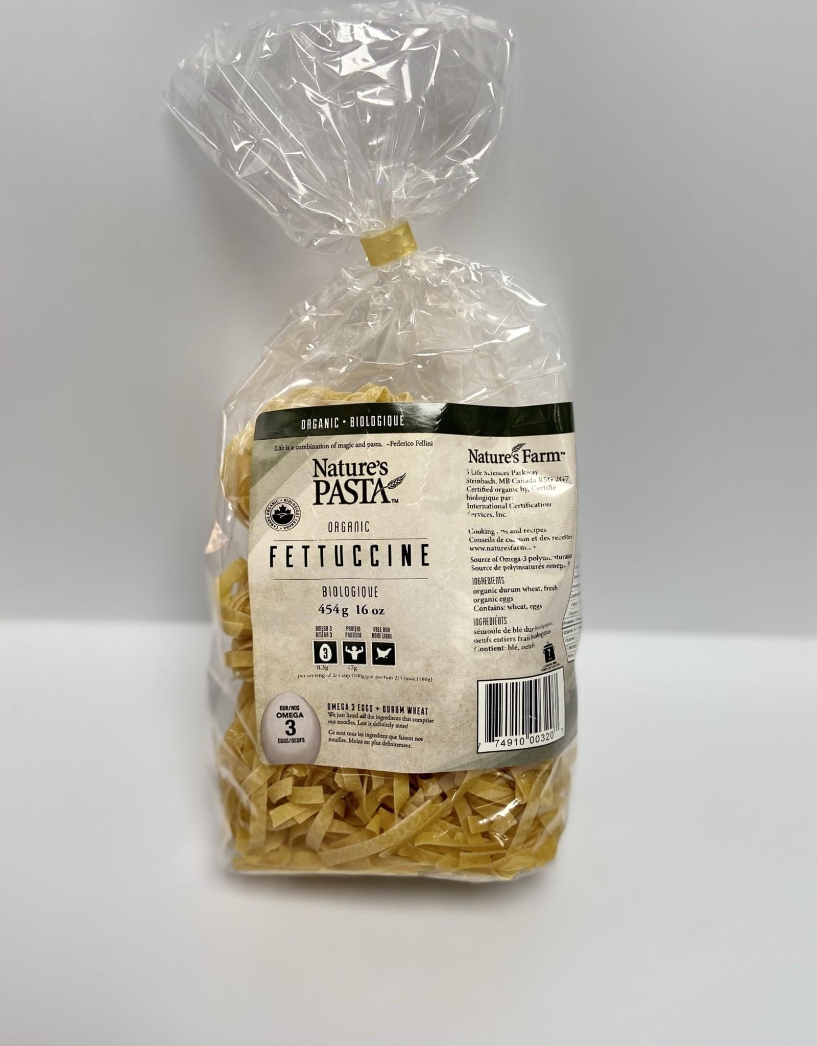 Nuco Natures Pasta - Organic Egg Pasta, Fettuccine (454g)