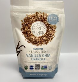 One Degree One Degree - Sprouted Oat Granola, Vanilla Chia (312g)
