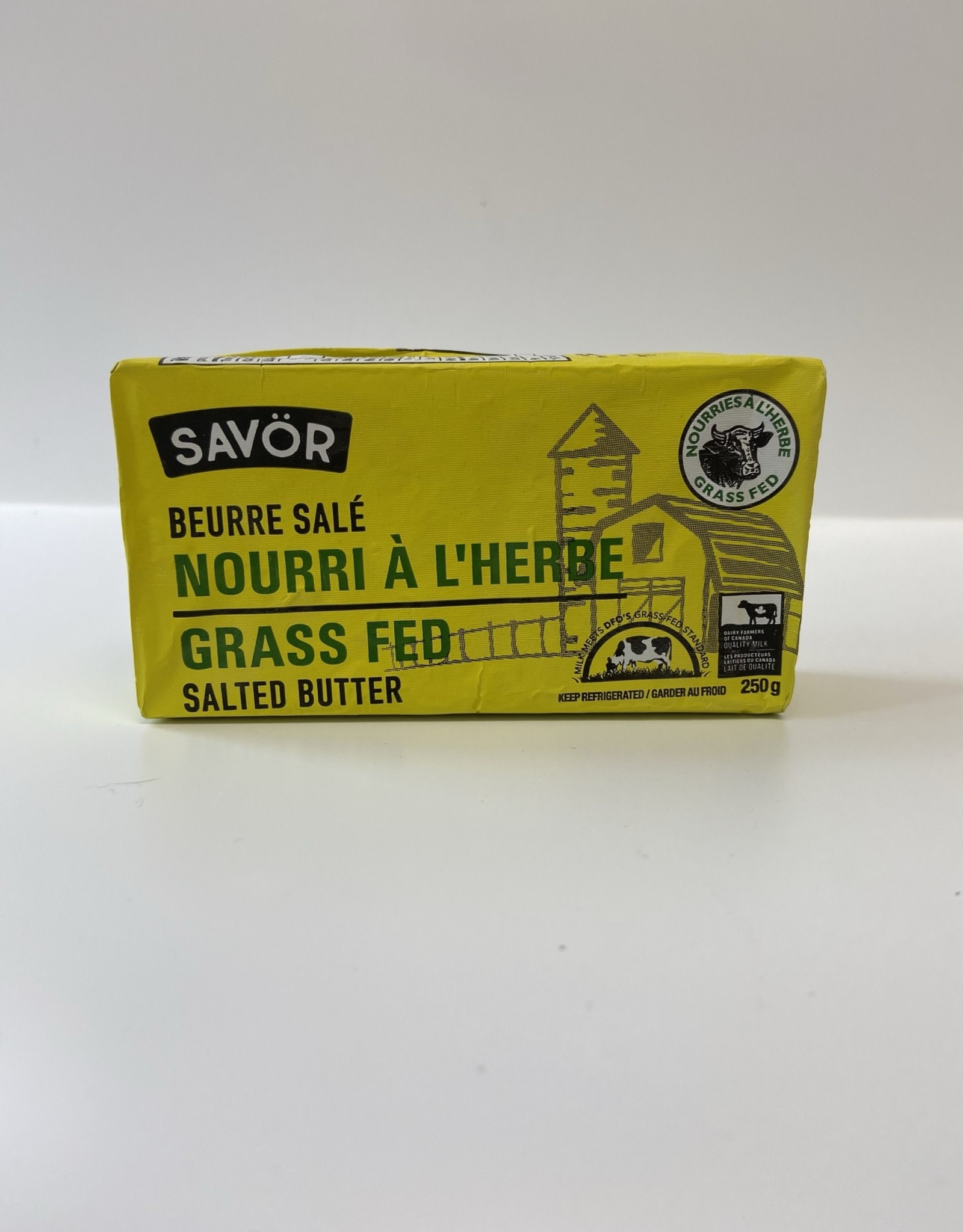 Savor Savor - Grass Fed Salted Butter (250g)
