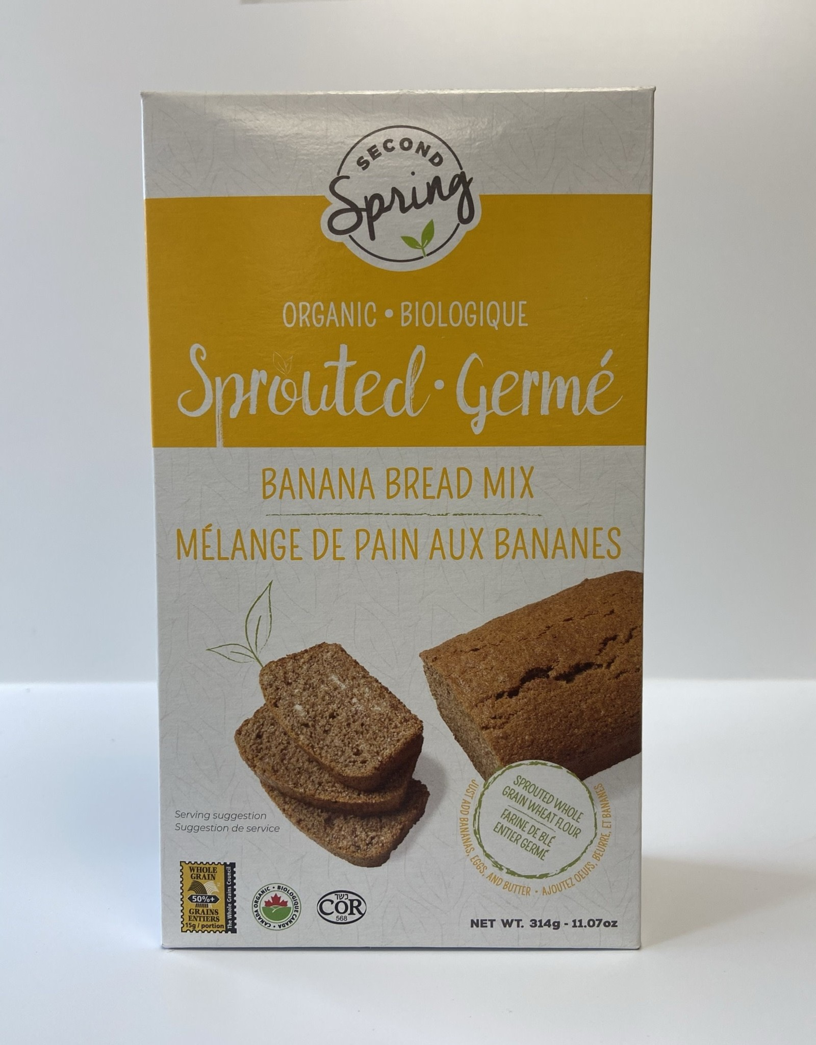 Second Spring Second Spring - Whole Wheat Banana Bread Muffin Mix