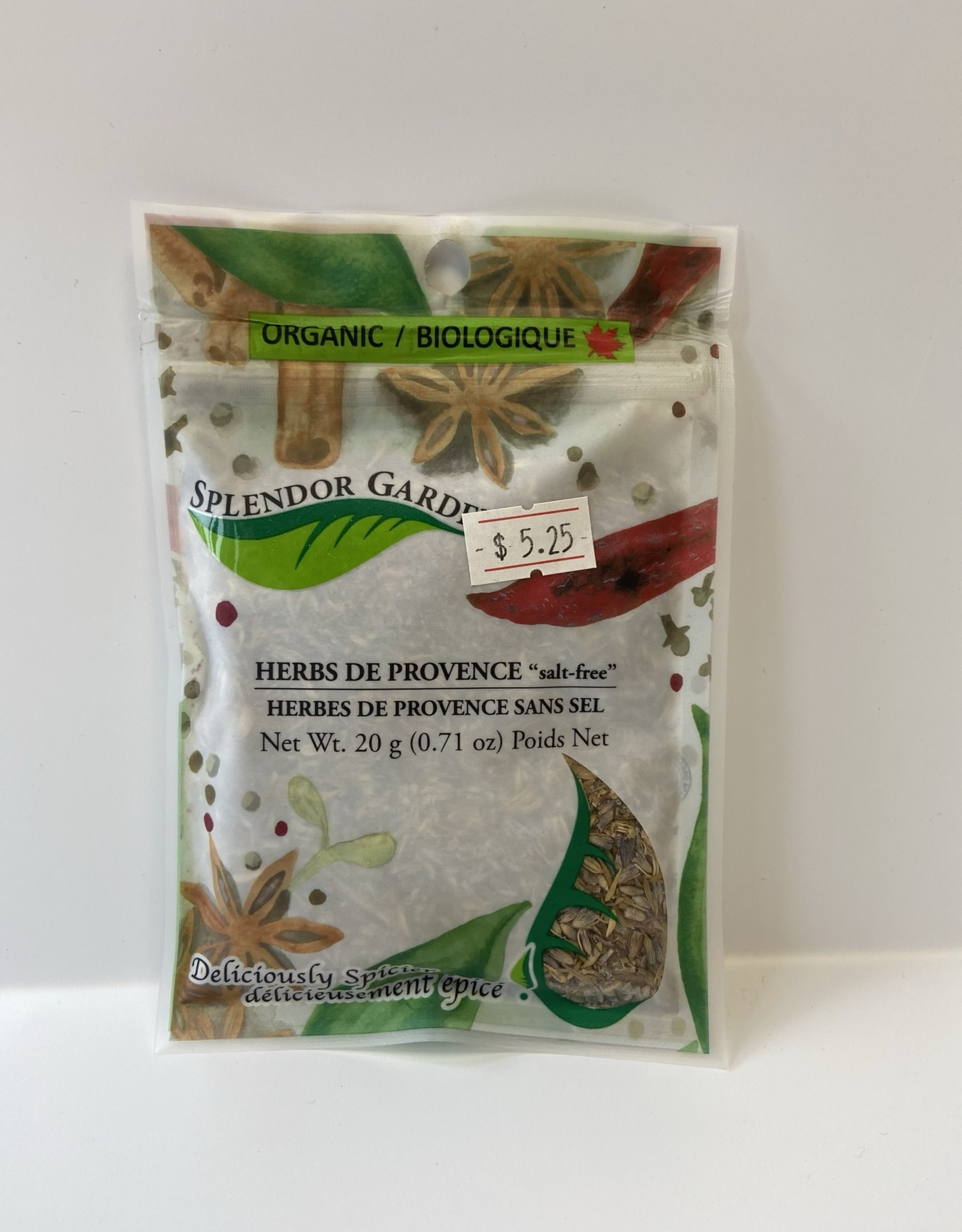 Splendor Garden Splendor Garden - Herbs de Provence Salt Free