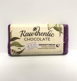 Rawthentic Chocolate Rawthentic Chocolate - Bar, Midnight Dream