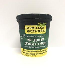 Screaming Brothers Screaming Brothers - Ice Cream, Mint Chocolate (473ml)