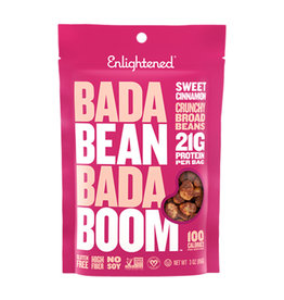 Enlightened Enlightened - Roasted Broad Bean Crisps, Sweet Cinnamon