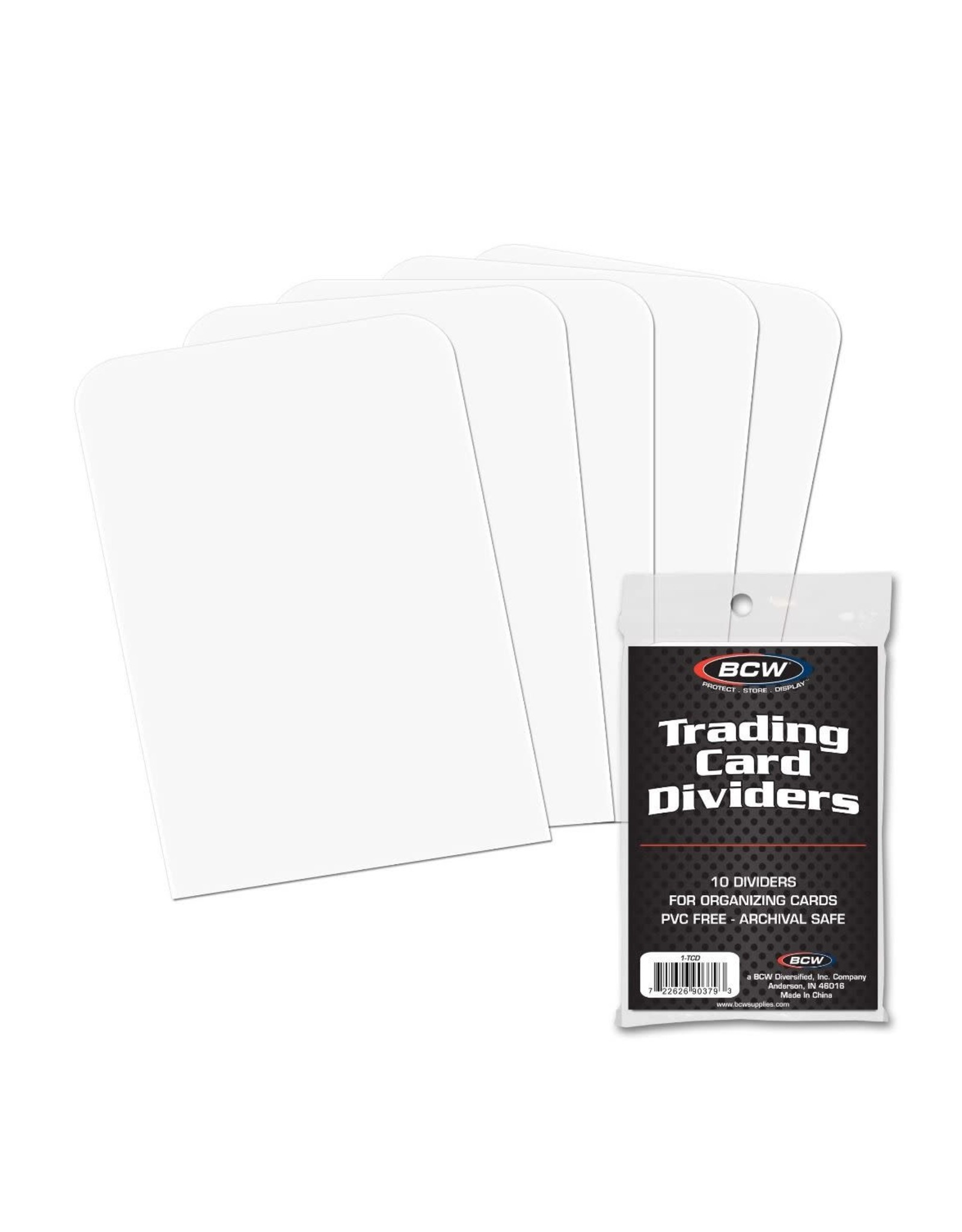 BCW BCW TRADING CARD DIVIDERS