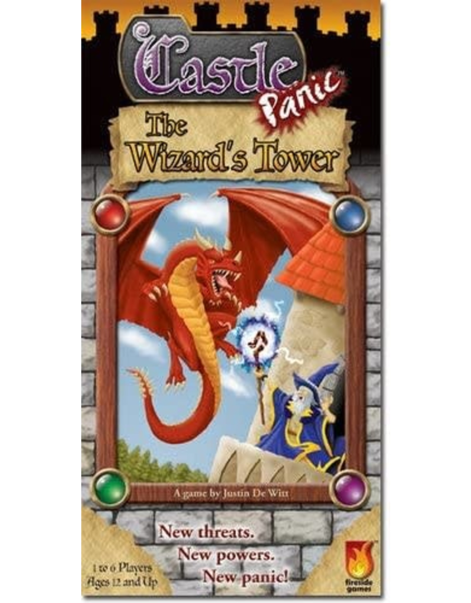 Fireside Games Castle Panic: The Wizards Tower Expansion