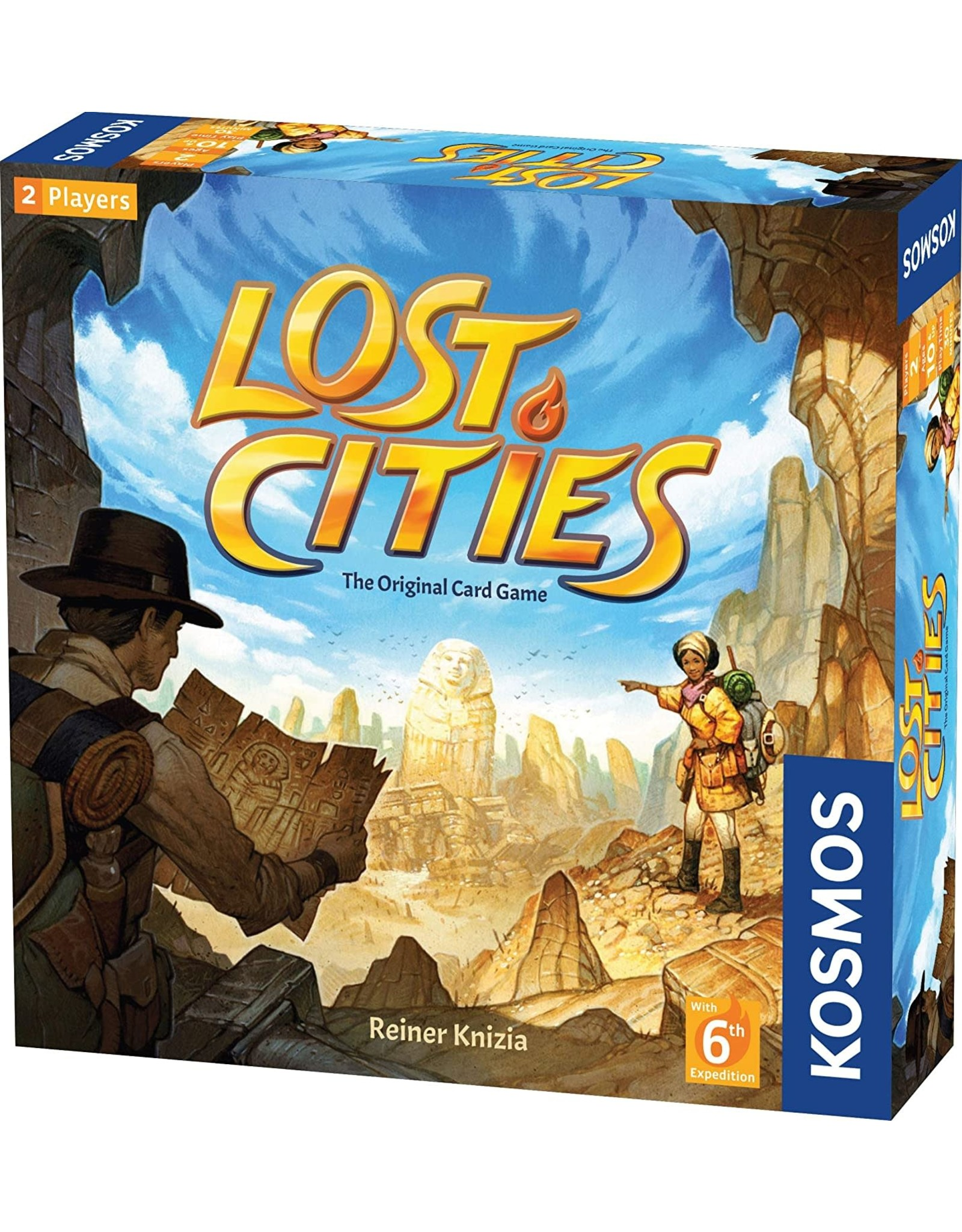 Kosmos Lost Cities Card Game with 6th Expedition