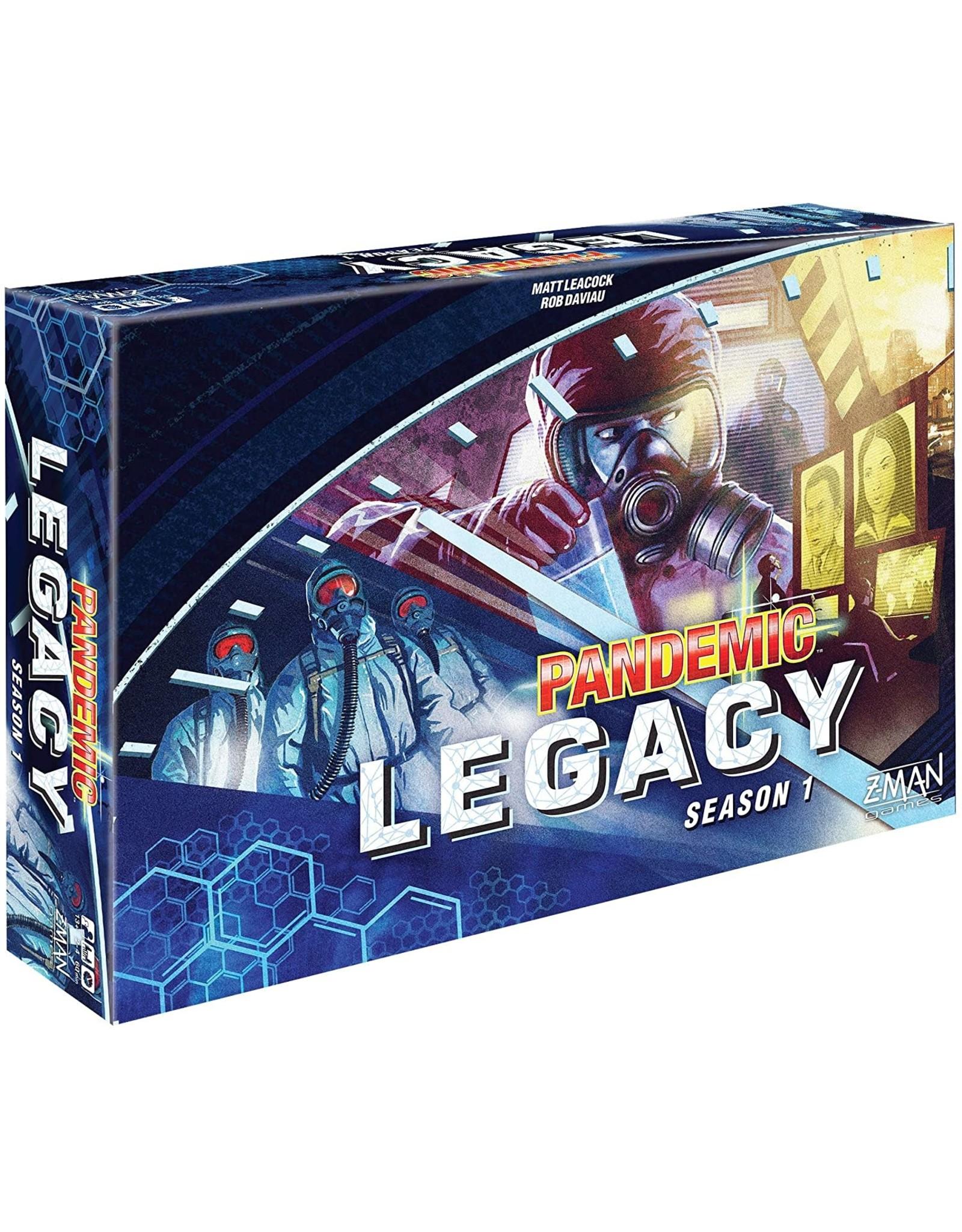 Z-Man Games Pandemic: Legacy Season 1 - Blue (stand alone)