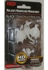 WizKids D&D Unpainted Miniature Black Dragon Wyrmling