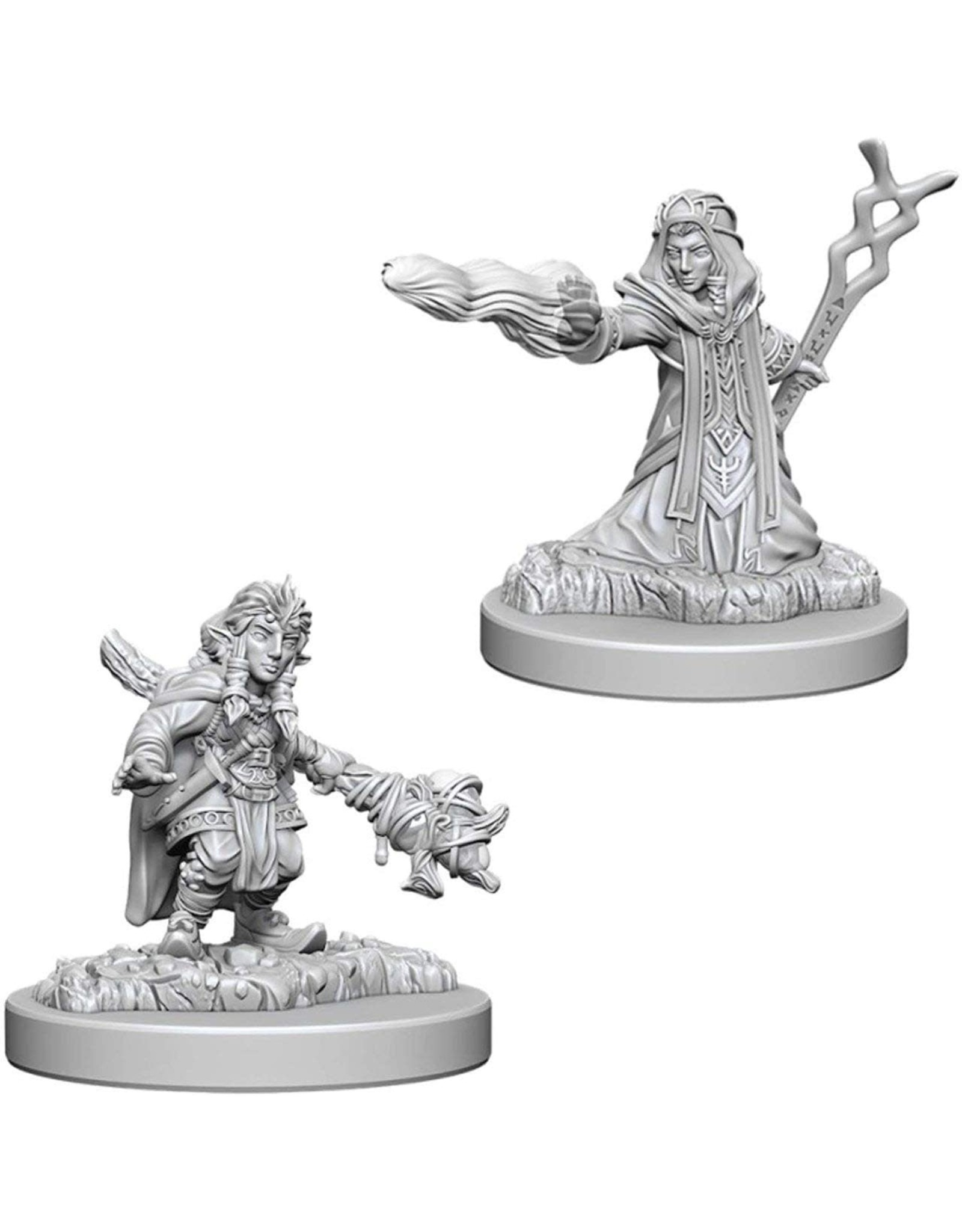WizKids D&D Unpainted Miniature Gnome Wizard (Female)