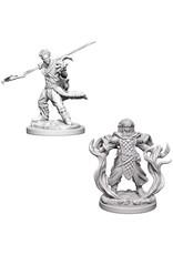 WizKids D&D Unpainted Miniature Human Druid (Male)