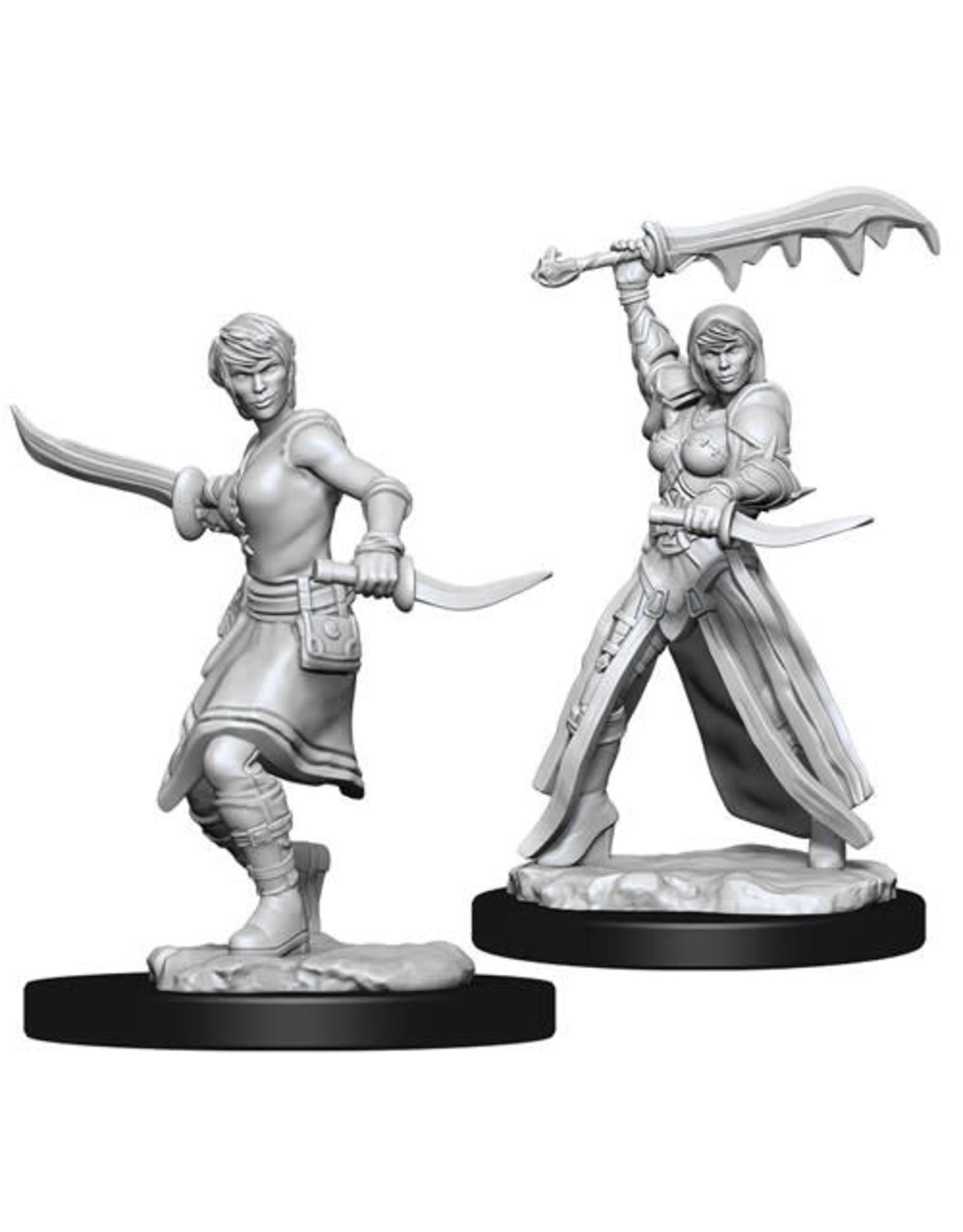WizKids D&D Unpainted Miniature Human Rogue (Female)