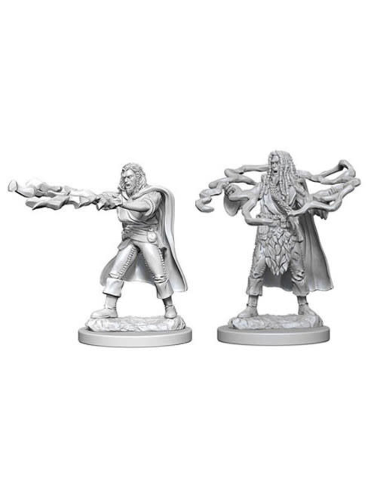 WizKids D&D Unpainted Miniature Human Sorcerer (Male)