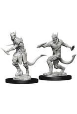 WizKids D&D Unpainted Miniature Tiefling Rogue (Male)