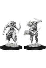 WizKids D&D Unpainted Miniature Tiefling Rogue (Female)