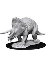 WizKids D&D Unpainted Miniature Triceratops