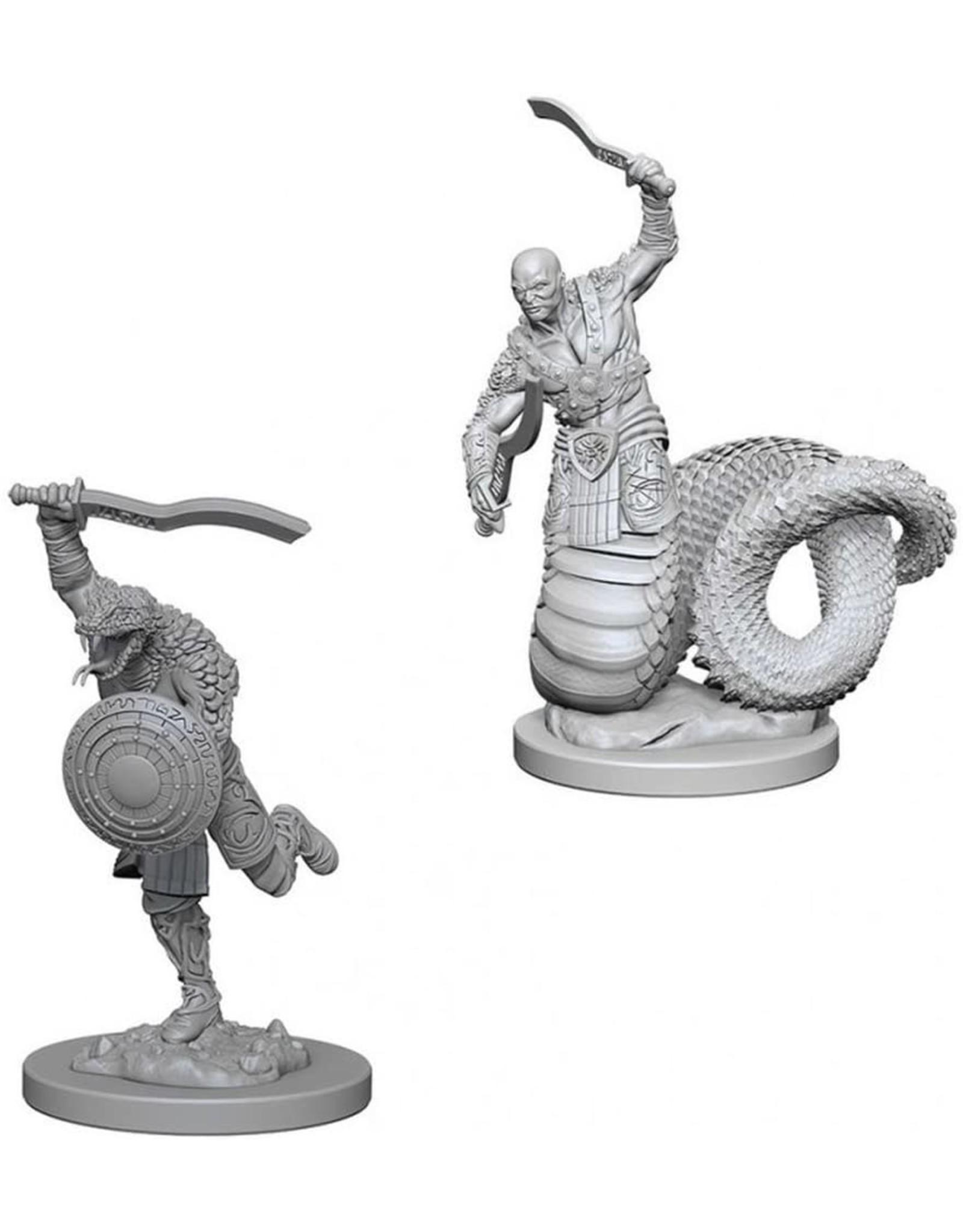 WizKids D&D Unpainted Miniature Yuan-Ti Malisons