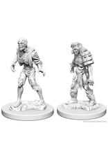 WizKids D&D Unpainted Miniature Zombies