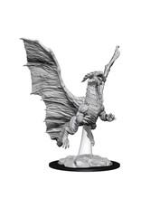 WizKids Dungeons & Dragons Nolzur's Marvelous Unpainted Miniatures: W8 Young Copper Dragon
