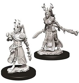 WizKids Dungeons & Dragons Nolzur's Marvelous Unpainted Miniatures: W9 Female Human Druid
