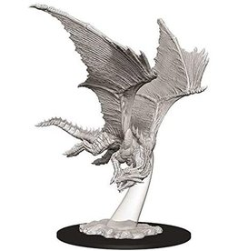 WizKids Dungeons & Dragons Nolzur's Marvelous Unpainted Miniatures: W9 Young Bronze Dragon