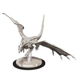 WizKids Dungeons & Dragons Nolzur's Marvelous Unpainted Miniatures: W9 Young White Dragon