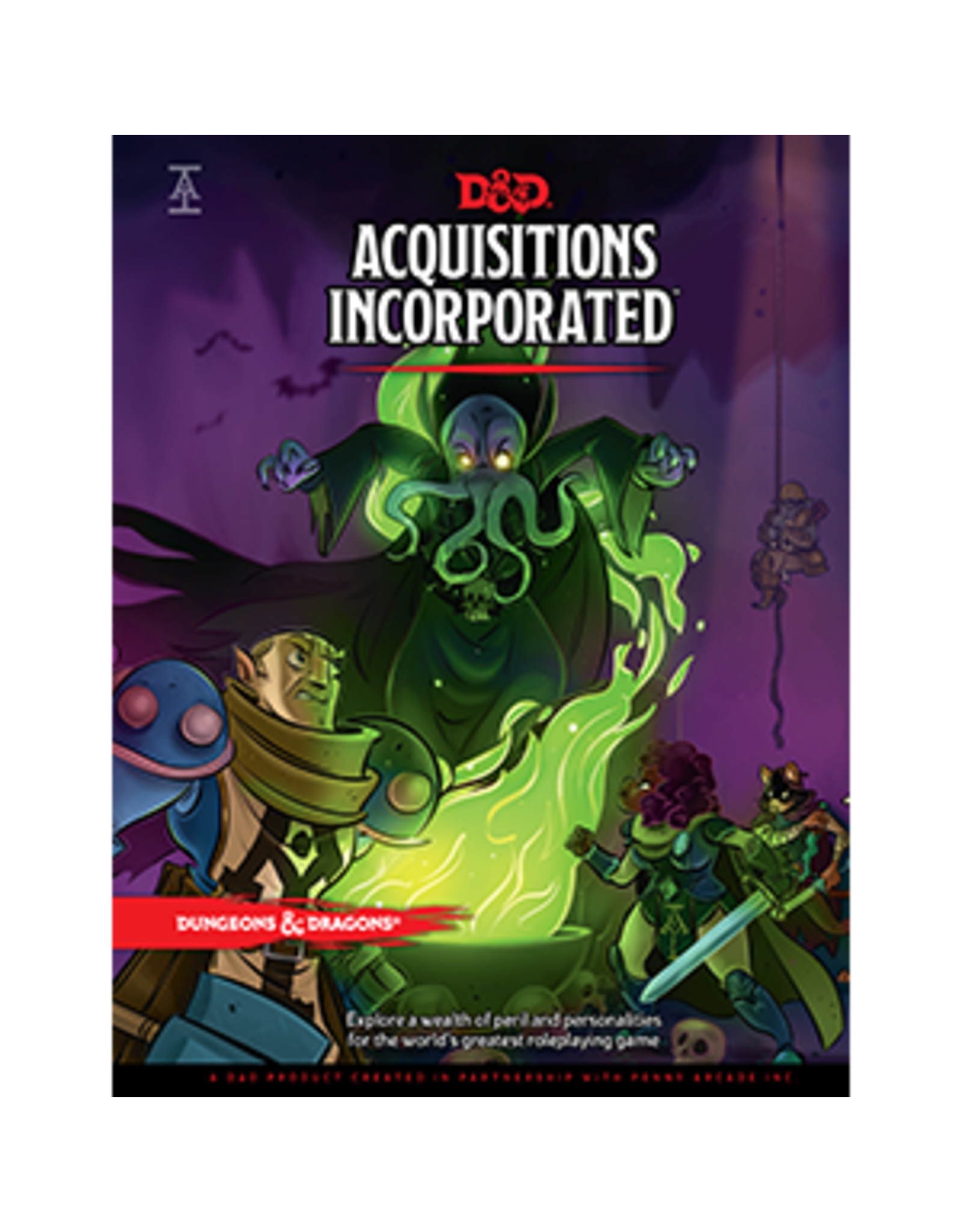 Wizards of the Coast DnD 5th Edition Acquisitions Incorporated Book