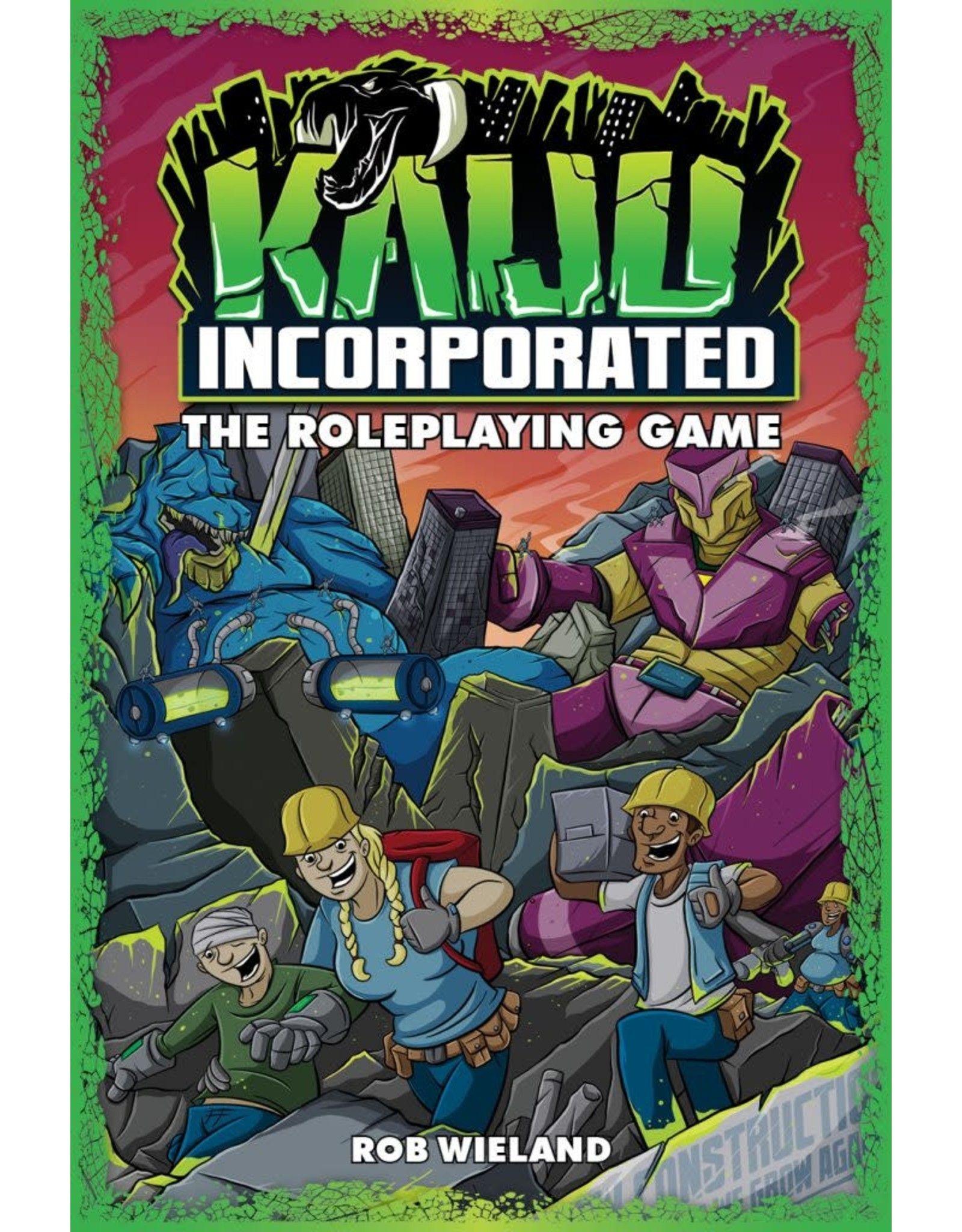 Evil Hat Productions Fate Core: Kaiju Incorporated
