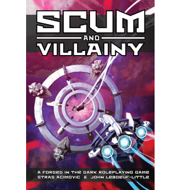 Evil Hat Productions Scum and Villainy (Blades in the Dark system) RPG Hardcover