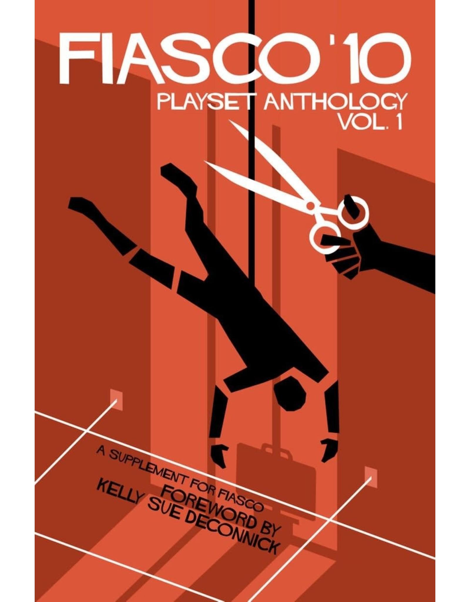 Bully Pulpit Games Fiasco 10 RPG: Playset Anthology - Volume 1