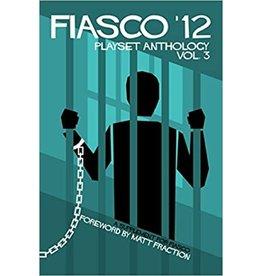 Bully Pulpit Games Fiasco 12 RPG: Playset Anthology - Volume 3