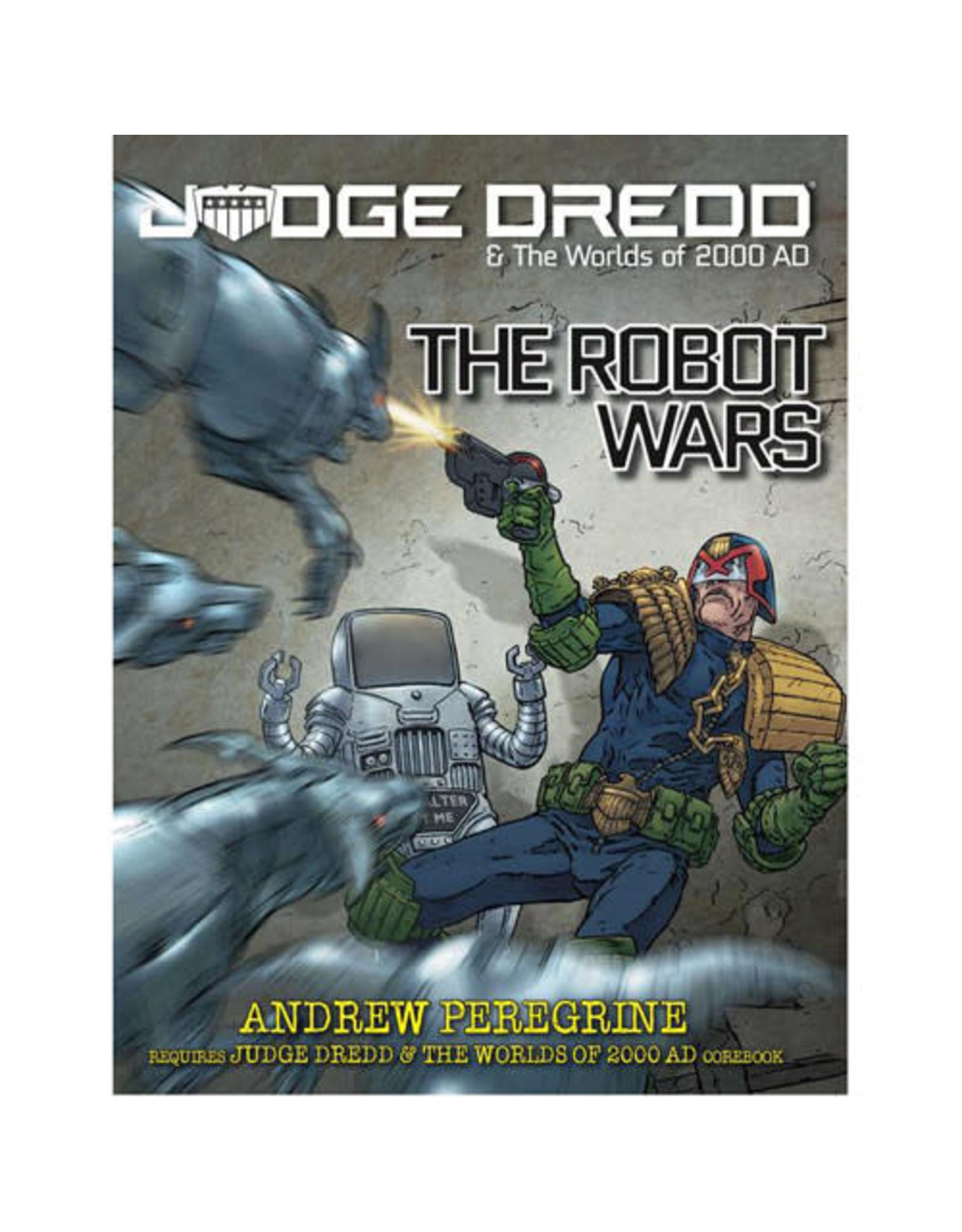 Modiphius Entertainment Judge Dredd: The Robot Wars
