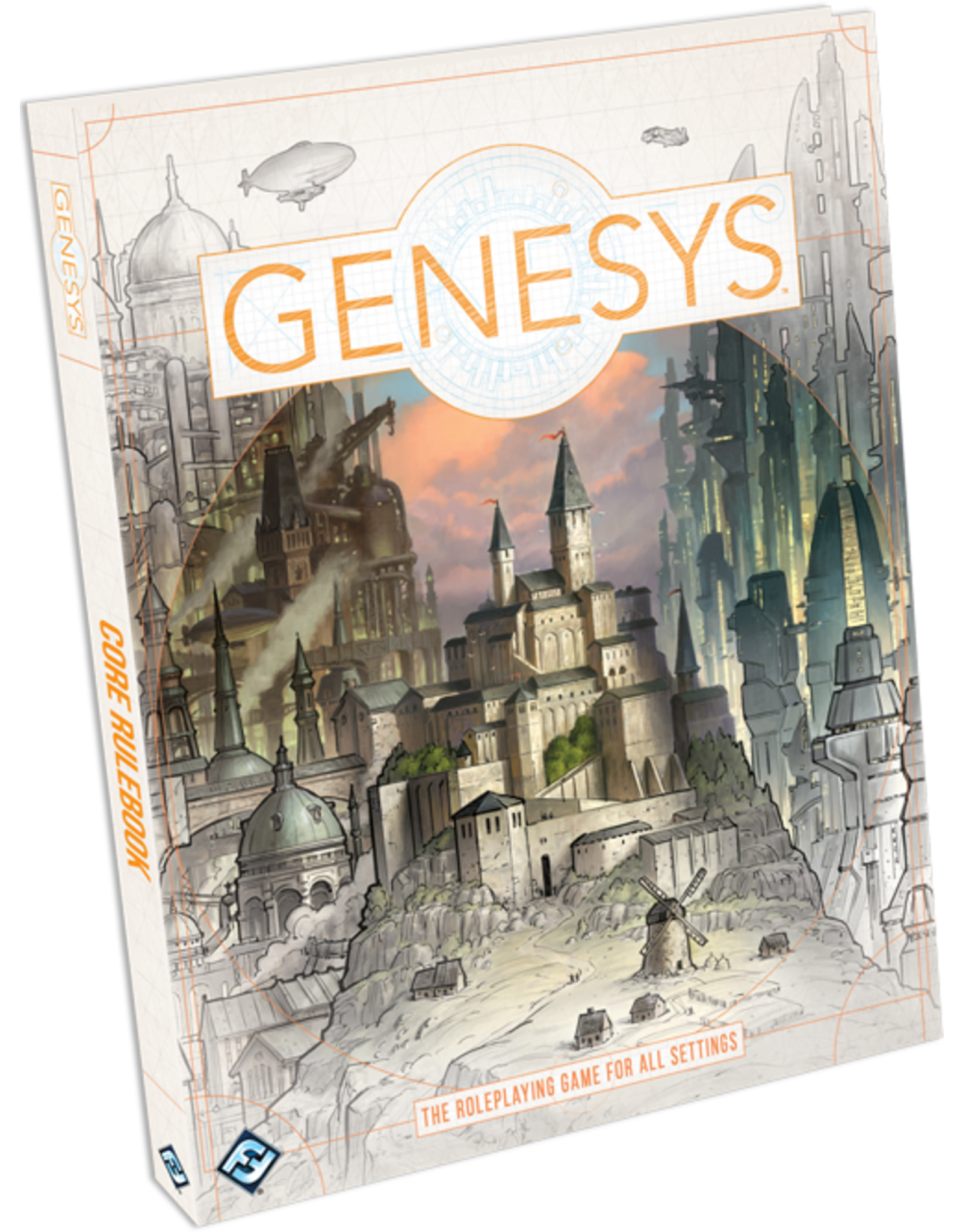 Fantasy Flight Games Genesys RPG: Core Rulebook Hardcover