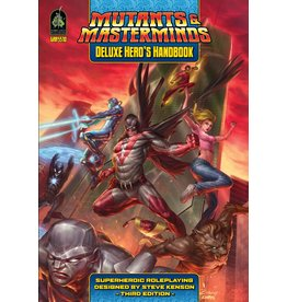 Green Ronin Publishing Mutants and Masterminds: Deluxe Heros Handbook