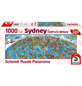 Schmidt Sidney 1000 Piece Jigsaw