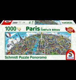 Schmidt Paris 1000 Piece Jigsaw