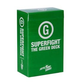 Skybound Games SUPERFIGHT The Green Deck (G Rated)