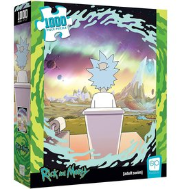 USAopoly Rick and Morty: Shy Pooper 1000pc
