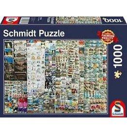 Schmidt Souvenir Stand 1000 Piece Jigsaw