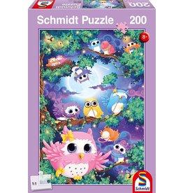 Schmidt In Owl Woods 200 Piece Jigsaw
