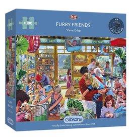 Gibsons Furry Friends 1000 Piece Jigsaw