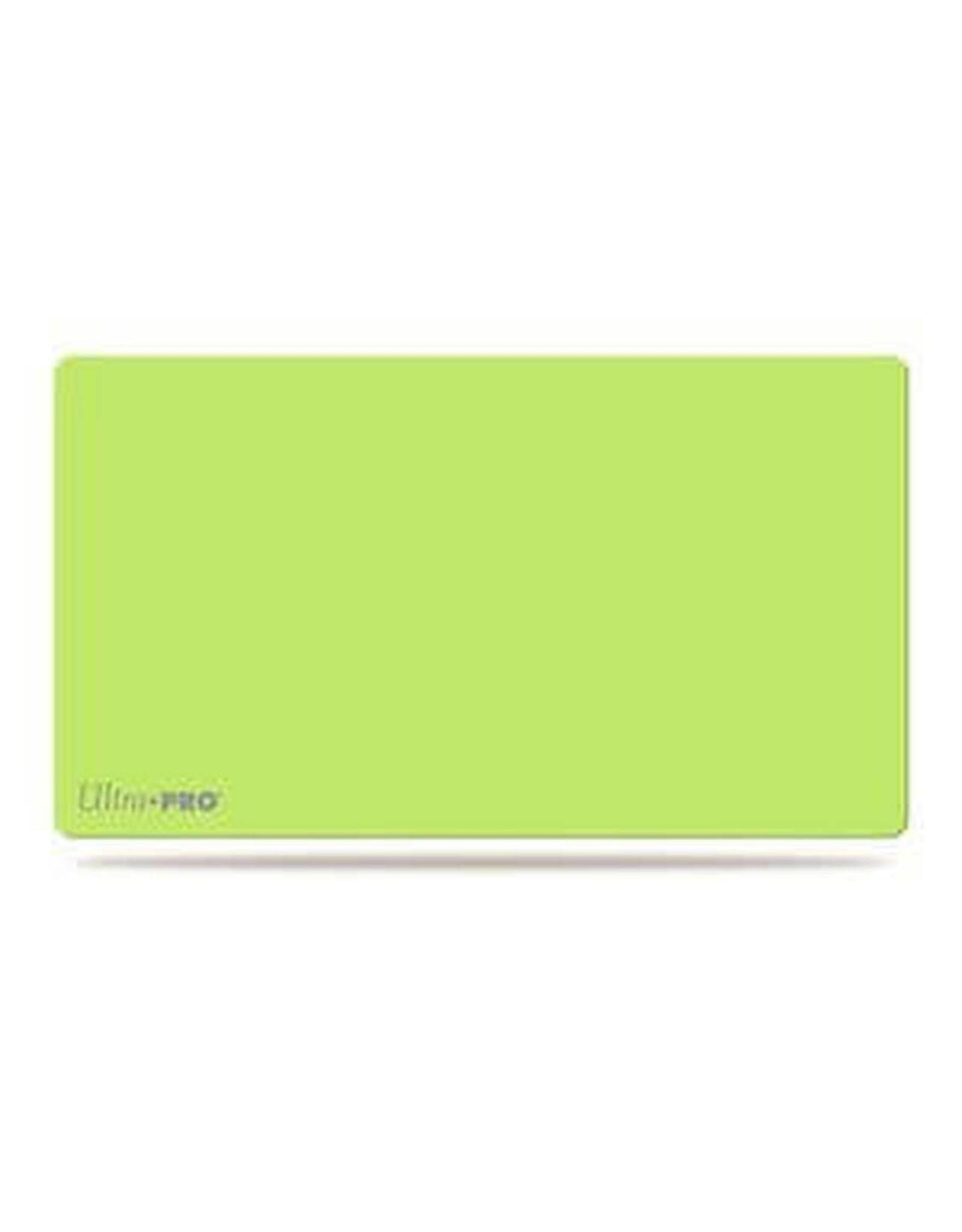 Ultra Pro Artist Gallery Lime Green Playmat